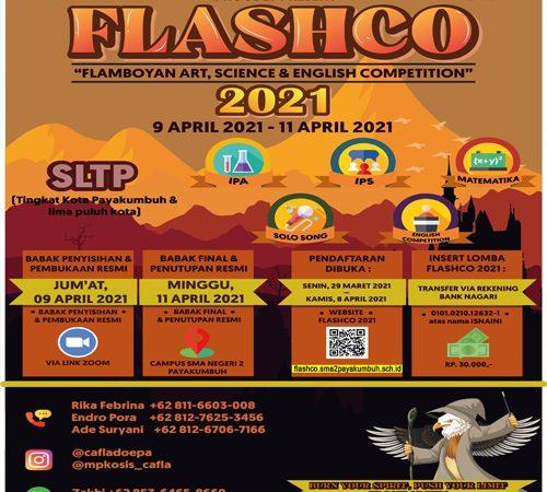 Pendaftaran FLASHCO XIV 2021