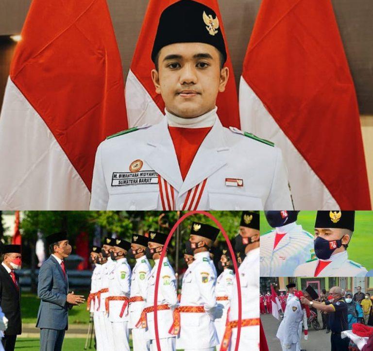 Mengenal Bimantara, Komandan Pasukan Delapan Paskibraka Nasional Kebanggaan Kota Payakumbuh